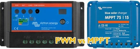 PWM vs MPPT solar charge controller