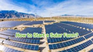 How to Start a Solar Farm