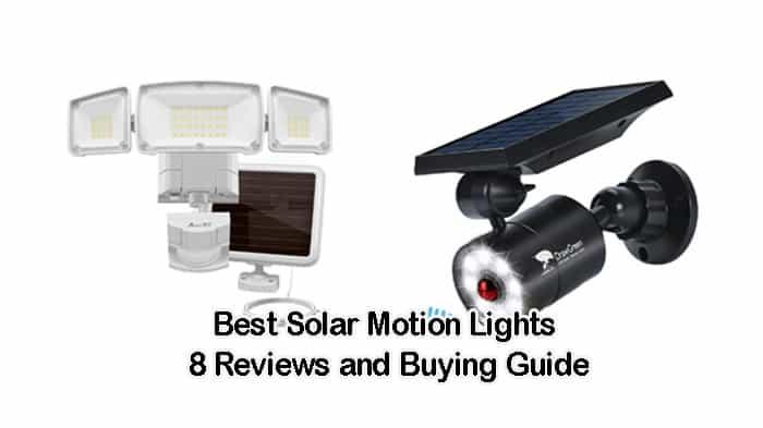 best solar motion lights